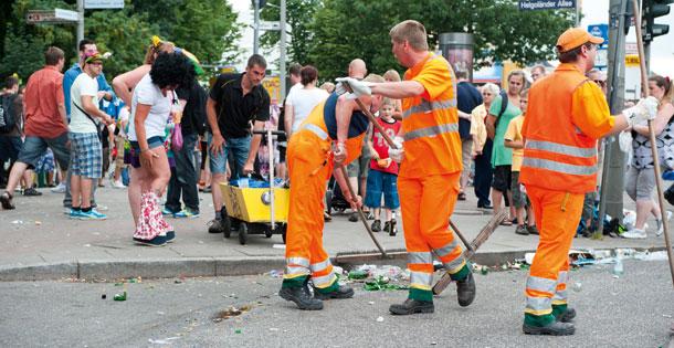 Reinigung von Veranstaltungsflächen HEG Hamburg